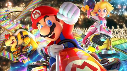 Mario Kart8 Deluxe получила патч впервые за последние два года