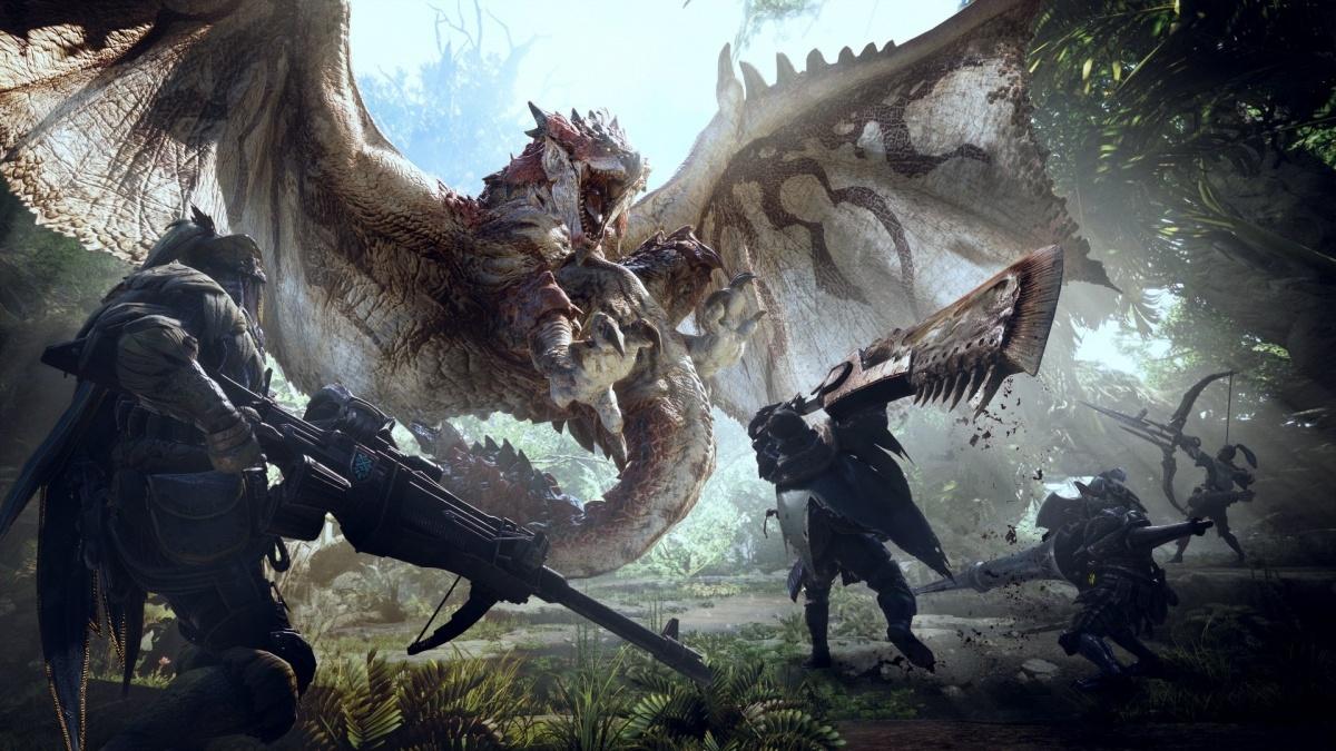 Capcom отгрузила13 миллионов копий Monster Hunter: World