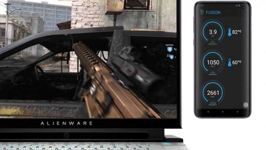 CES 2020: Alienware предлагает использовать смартфон для вывода игровой статистики