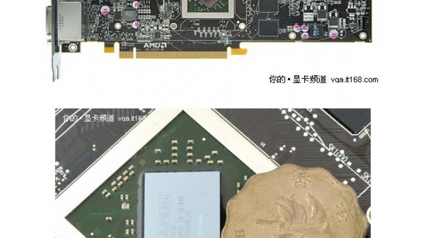 Radeon HD 6870 засветился на фотографиях