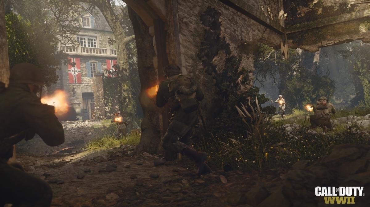 Дополнение Resistance для Call of Duty: WWII отправит игроков в штаб Гитлера
