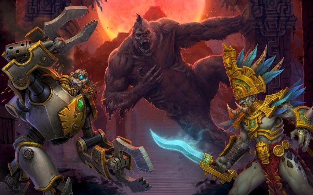 Авторы World of Warcraft запутались в собственных союзных расах