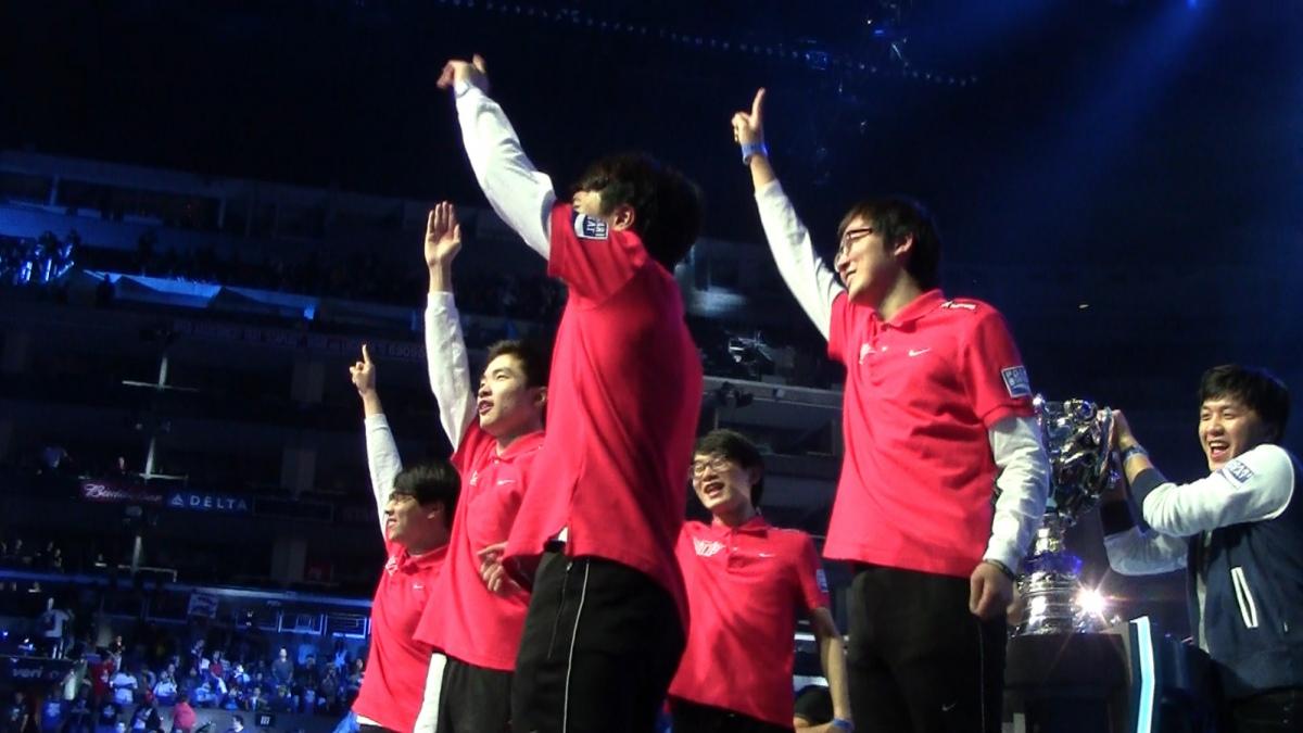 Чемпионами мира по League of Legends стали корейцы