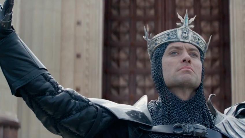 Новый ролик фильма «Меч короля Артура» посвятили Вортигерну