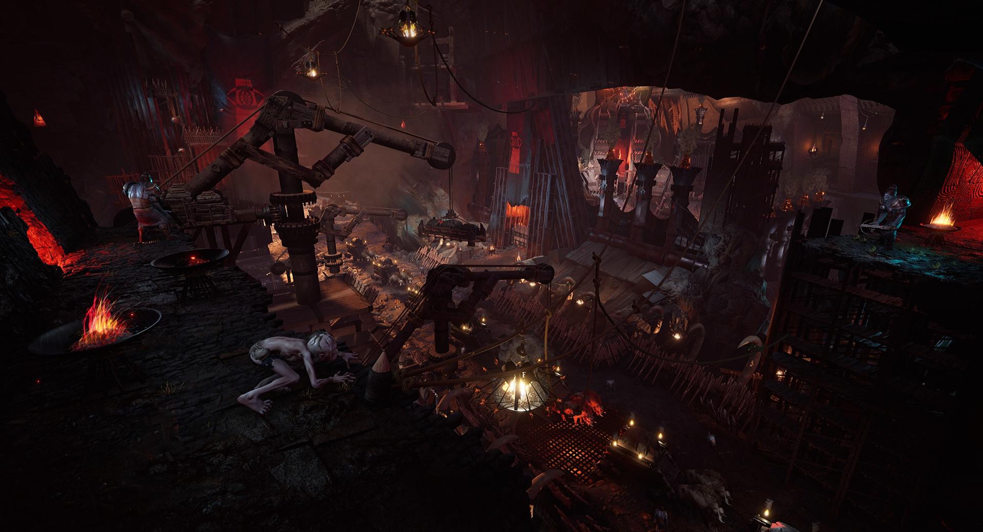 The Lord of the Rings: Gollum для PS5: рейтрейсинг, SSD и поддержка DualSense