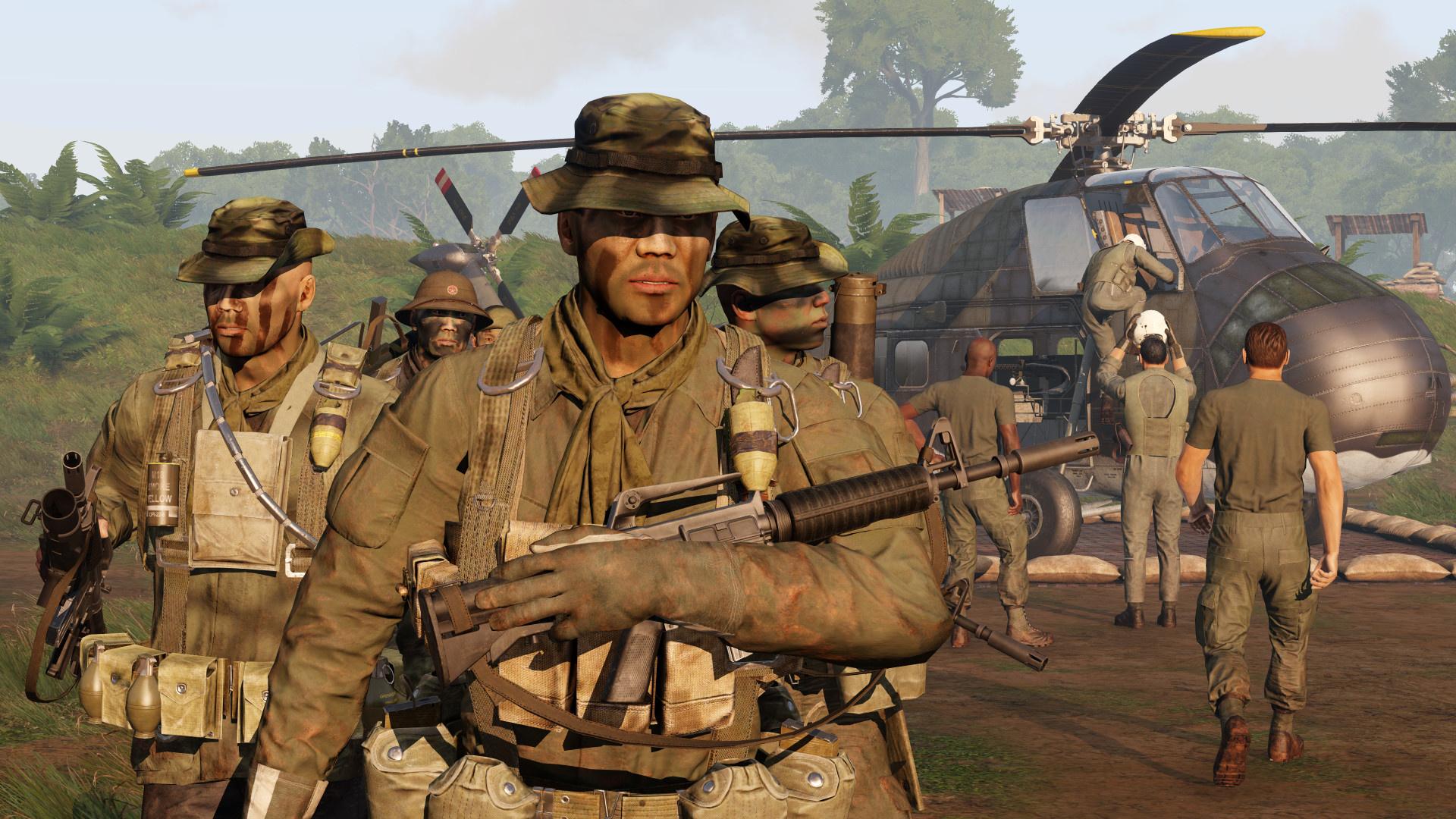 Для Arma3 анонсировали дополнение про Вьетнамскую войну