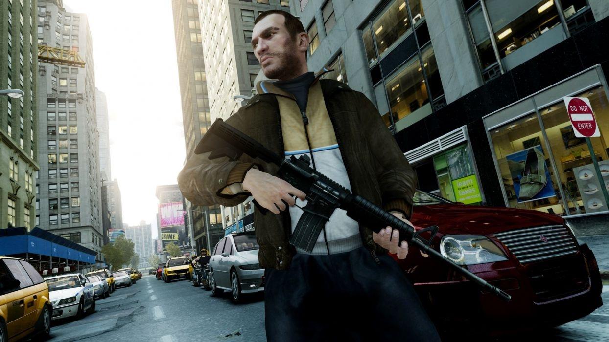 Grand Theft Auto IV вернётся в Steam19 марта, но без мультиплеера