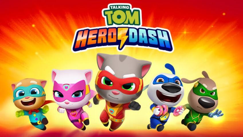 Том спешит на выручку: Talking Tom Hero Dash доступна для загрузки