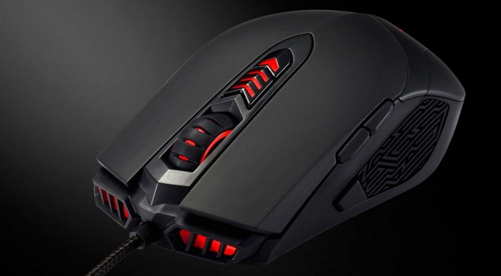 Мышь ASUS GX860 Buzzard получила сенсор Avago 9800
