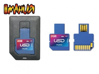 uSD – SD карты с USB-разъемом