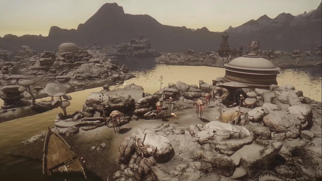 Разработчики Beyond Skyrim: Morrowind показали новые живописные пейзажи