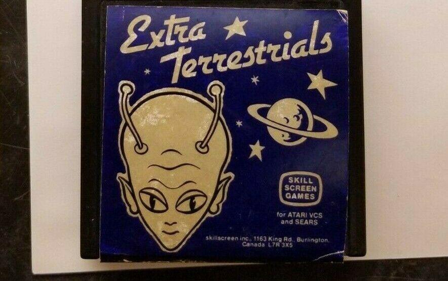 Самую редкую видеоигру Extra Terrestrials продали за 90 тысяч долларов