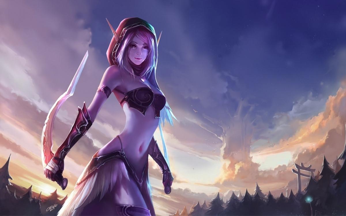 World of Warcraft получила аудиодраму об Аллерии и Туралионе