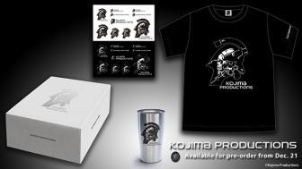 Хидэо Кодзима открыл сувенирный магазин Kojima Productions Store