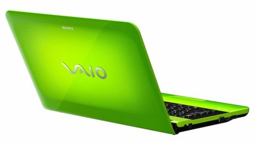 Sony представила яркие ноутбуки VAIO EA и EC