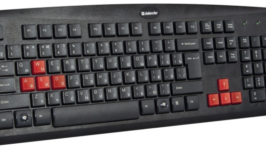 Игровая клавиатура Defender Warhead