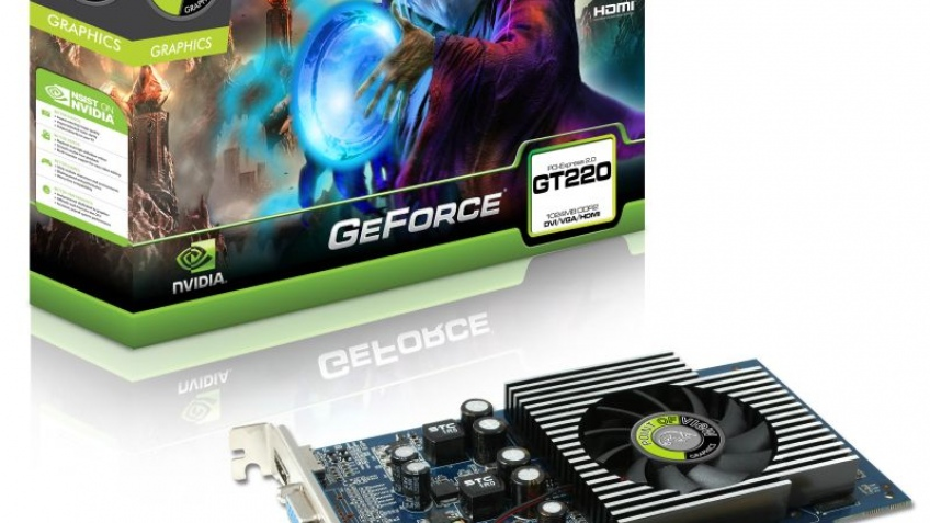 Point of View анонсировала GeForce G210 и GT220