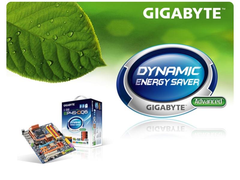 Материнка на основе Intel P45 от GIGABYTE