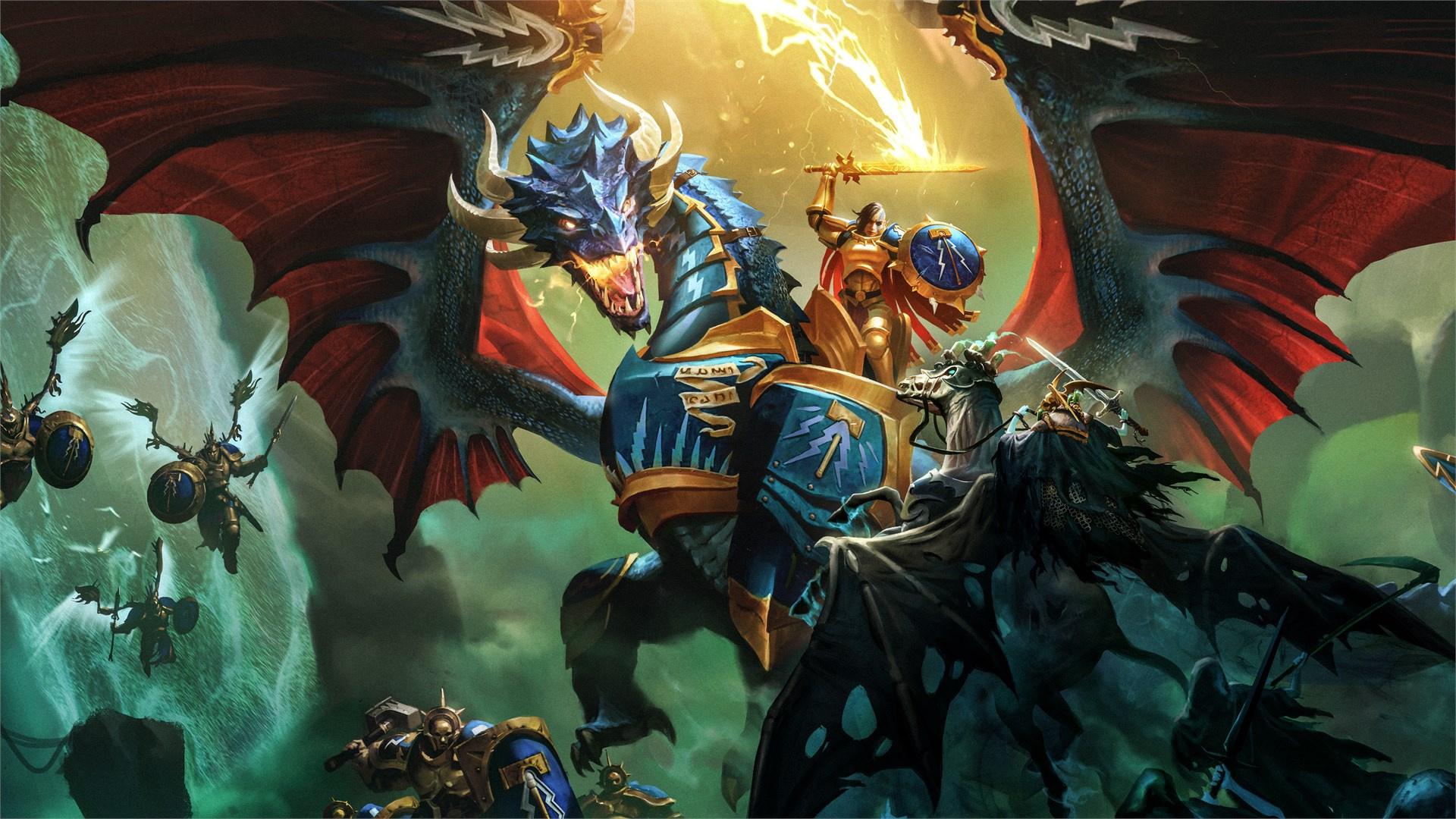 Пошаговая стратегия Warhammer Age of Sigmar: Storm Ground выйдет27 мая