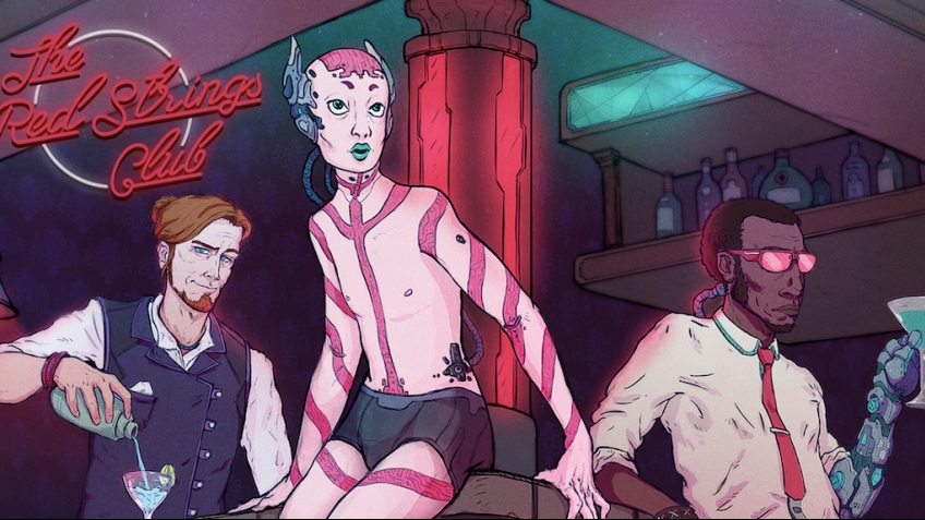 Инди-приключение The Red Strings Club получило дату релиза и бонус предзаказа