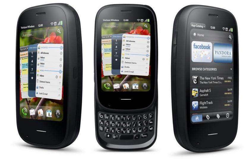 Слух: новый смартфон Palm Peptio будет довольно необычным
