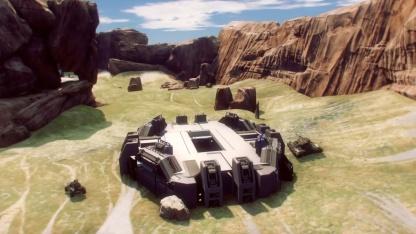 Энтузиасты воссоздали карту из оригинальной Halo на Unreal Engine4