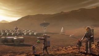 Авторы Surviving Mars показали, как живётся под куполом
