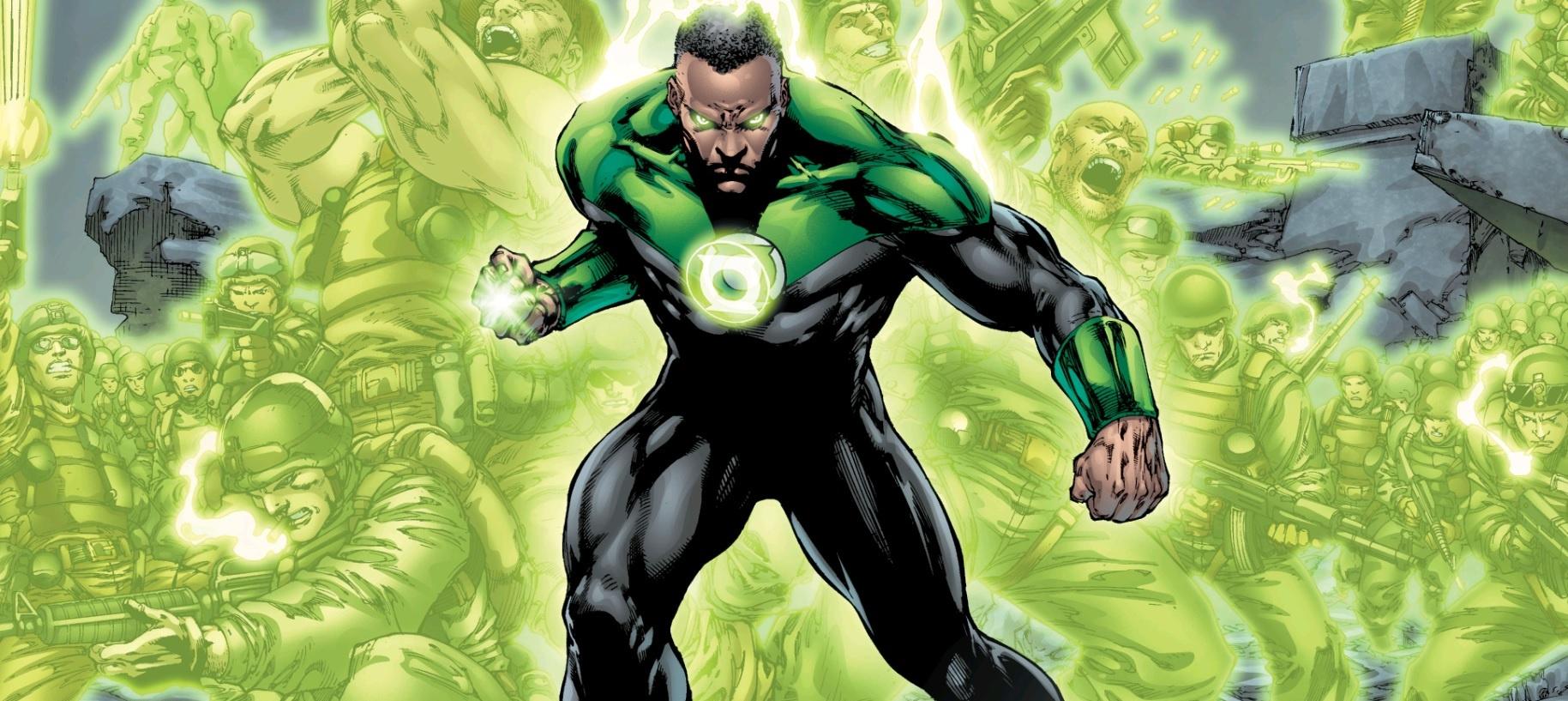 Зак Снайдер показал, как выглядел Зелёный Фонарь в его «Лиге Справедливости»