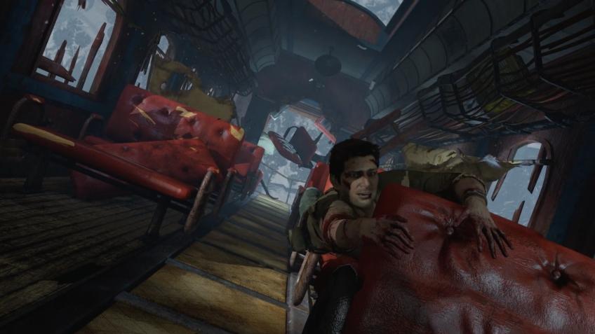 Секреты геймдизайна — как работает уровень на поезде в Uncharted2