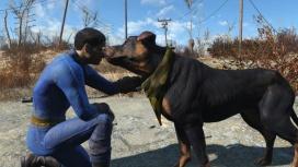 Эта модификация для Fallout4 позволяет вам гладить любую собаку
