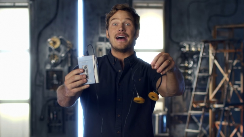 Звездный лорд рассказал о преимуществах кассетного плеера Walkman