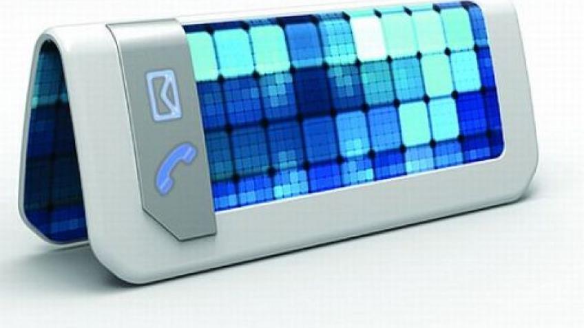 Гаджеты с гнущимися дисплеями появятся в 2012 году