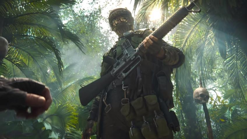 В синематике второго сезона Black Ops Cold War герои отправились в джунгли