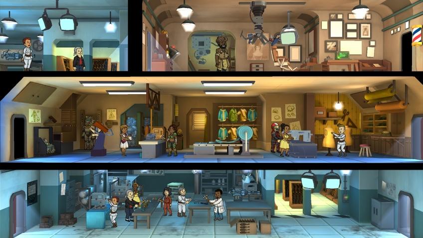 Fallout Shelter появилась в Steam