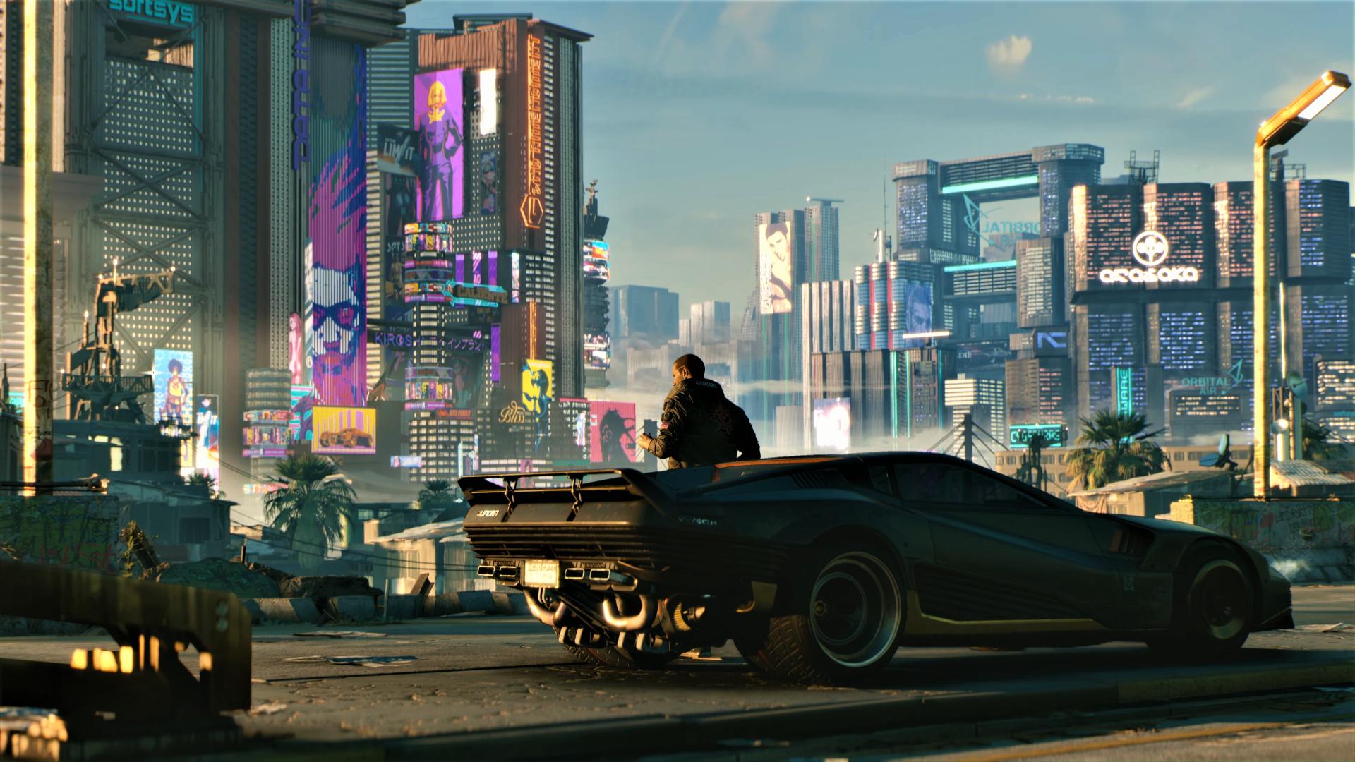 Cyberpunk 2077 получит поддержку рейтрейсинга и на видеокартах AMD