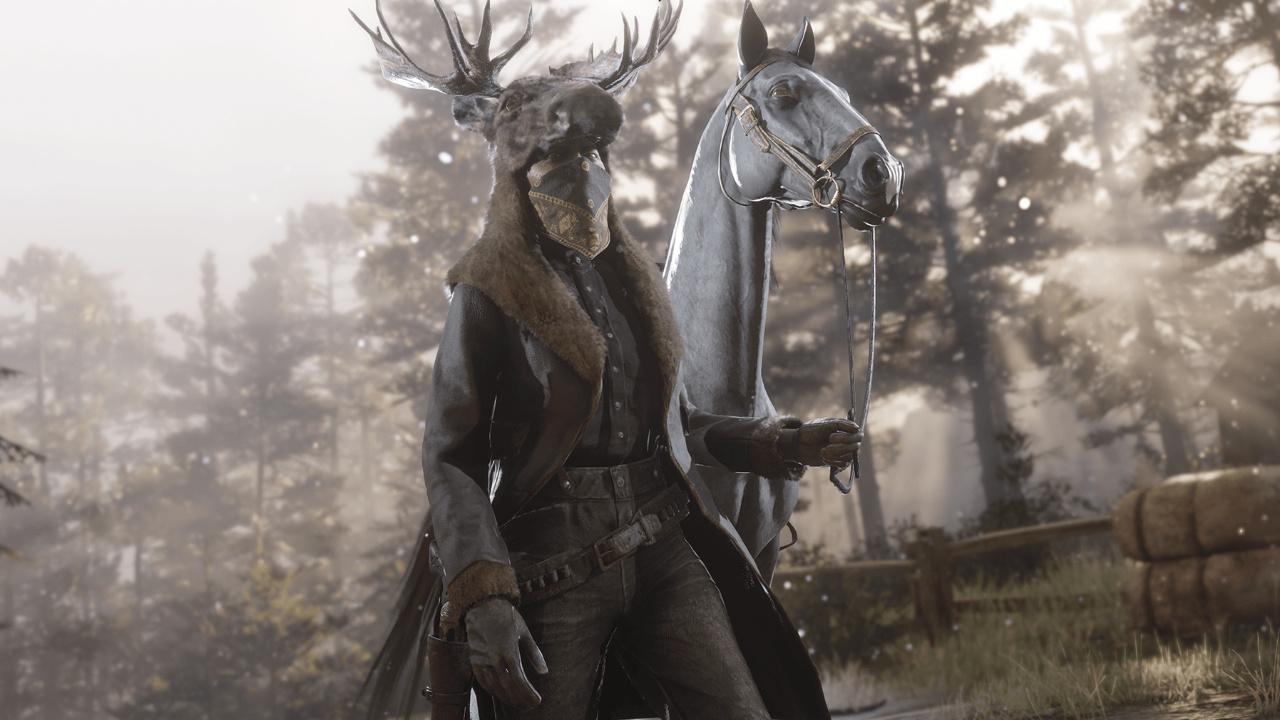 Новым легендарным животным Red Dead Online стал лось