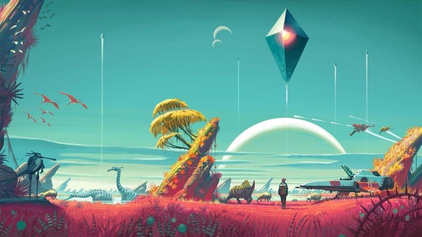 Количество игроков в No Man's Sky выросло на 2000 процентов с выходом обновления Atlas Rises