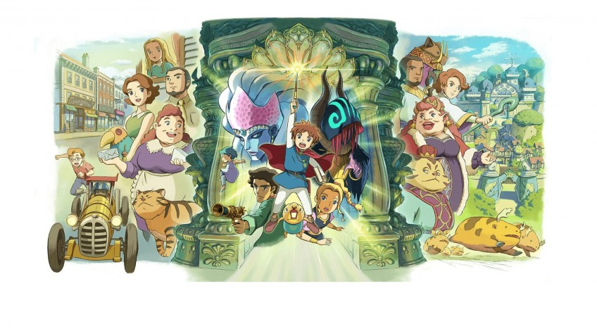 Ремастер Ni no Kuni: Wrath of the White Witch выйдет в сентябре
