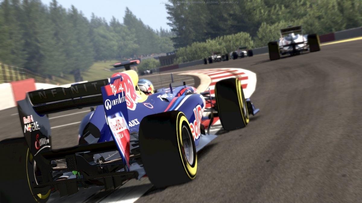 Анонс автосимулятора F1 2012