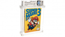 Запечатанную копию Super Mario Bros.3 продали за рекордные 156 тысяч долларов