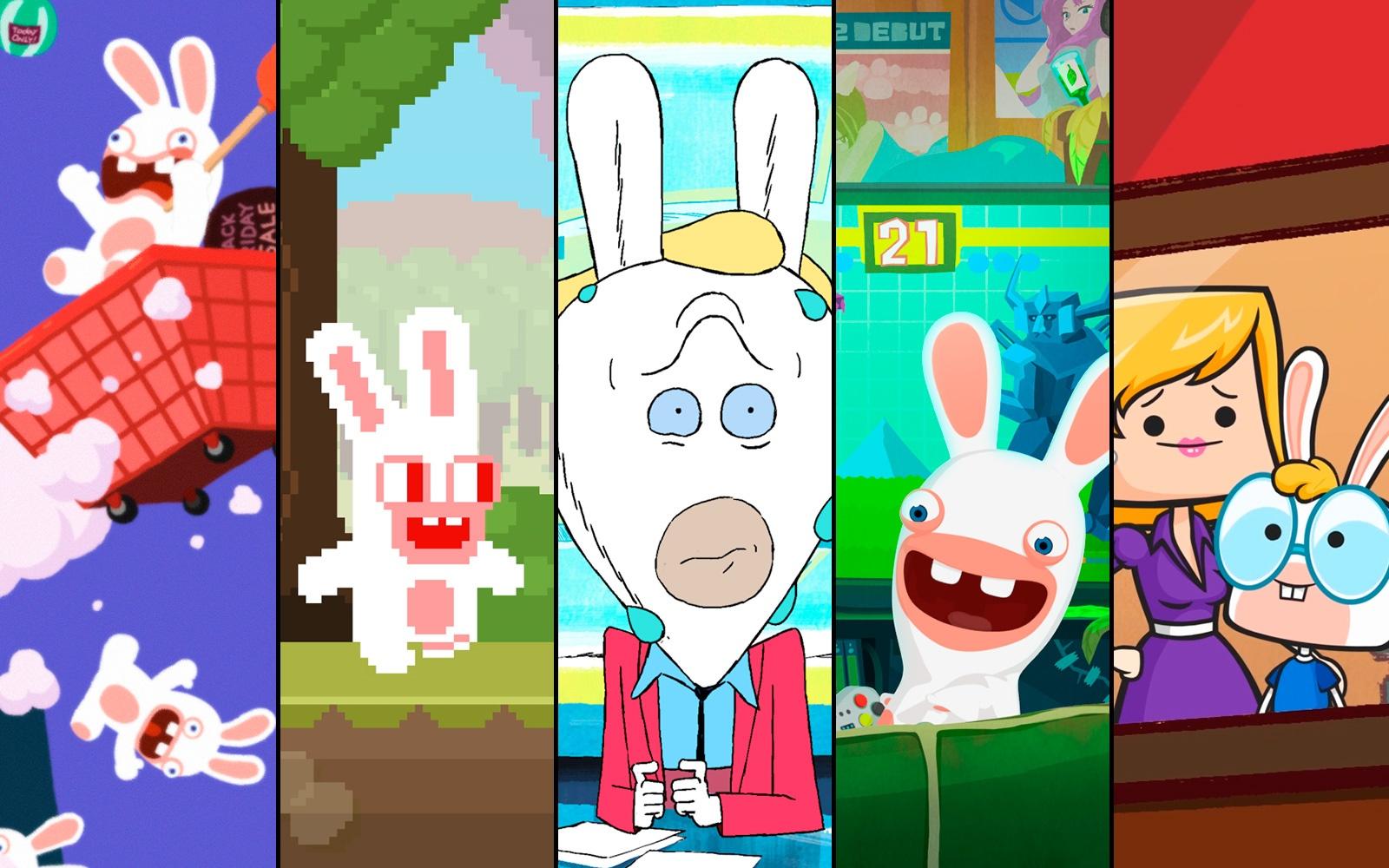 Десять студий сделали для Ubisoft мультфильмы про кроликов