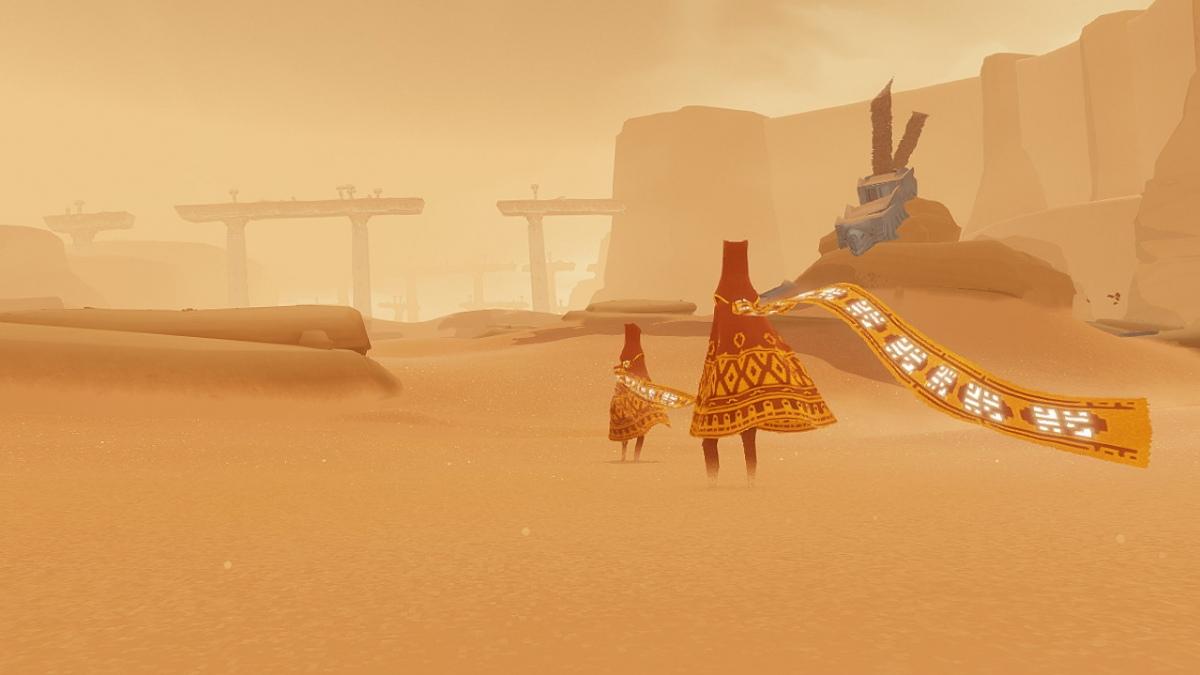 Journey и The Unfinished Swan портируют на PS4 в 1080p