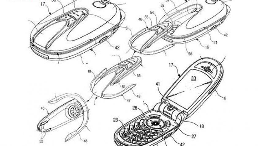 Гибрид телефона и гарнитуры от Samsung