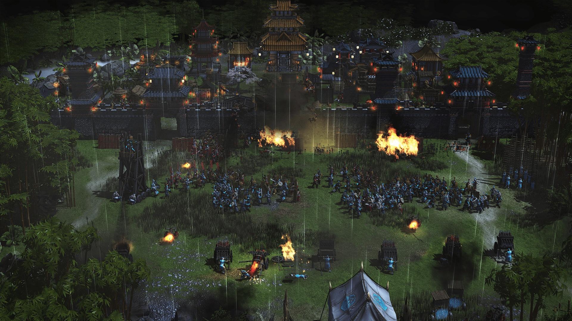 Авторы Stronghold Warlords показали китайскую миссию с участием Циня Шихуанди