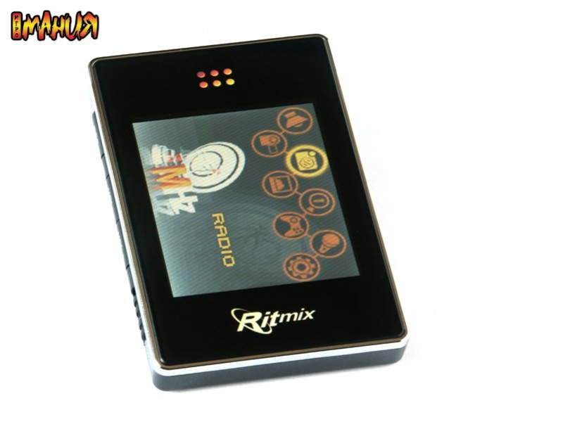 Новый MP3-плеер Ritmix