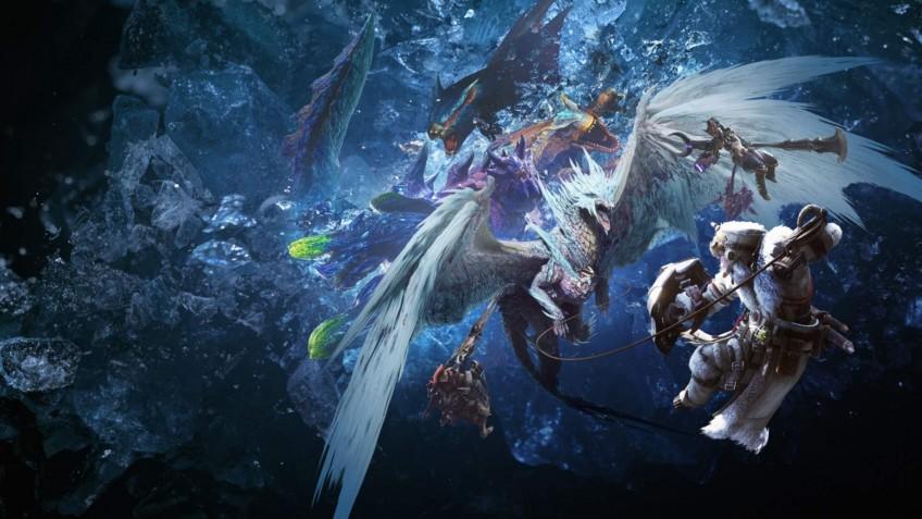 Monster Hunter World: Iceborne возглавила чарт Steam