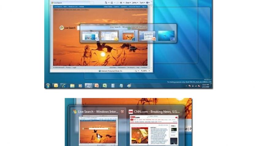 Microsoft внесет изменения в интерфейс Windows 7