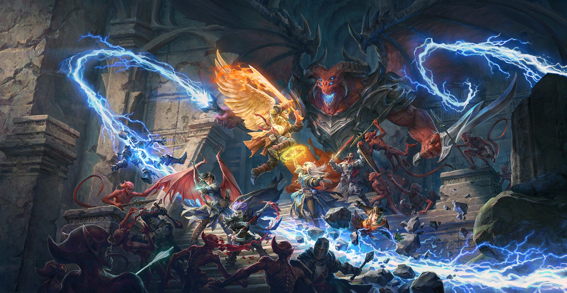 Анонсирована Pathfinder: Wrath of the Righteous — непрямой сиквел прошлогоднего хита