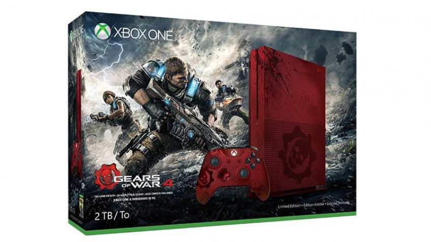 Microsoft представила ограниченное издание Xbox One S в стиле Gears of War4