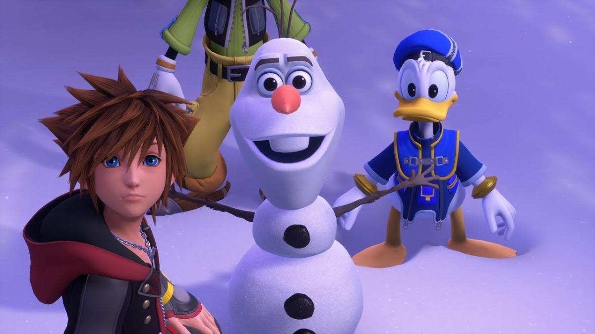 Kingdom Hearts3 оказалась у игроков за месяц до релиза